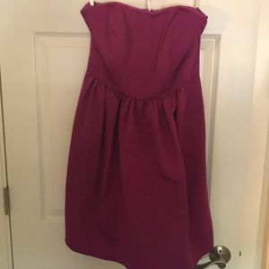 Raspberry Bridesmaid Dress